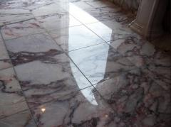 Cleaning of marble coverings of Teqin Clean