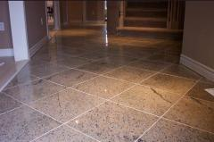 Cleaning of granite floors of Teqin Clean