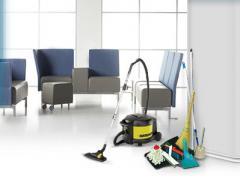 Cleaning of offices