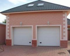 Construction of garages of Modern Servis, MMC