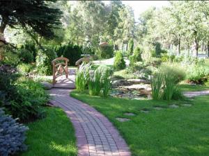 Landscaping of a garden