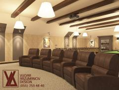 Author's interior design in Bak