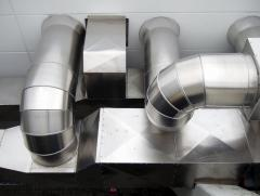 New Mett Design of central airs and ventilation