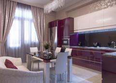 Development of interior design and furniture