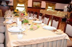 Корпоративный банкет, вечеринка в ресторане Elbara