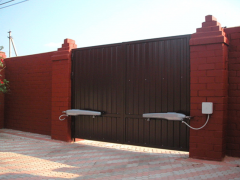 Automation of gate - production and installation