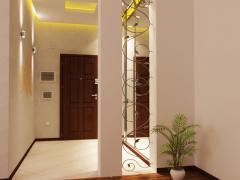 Design of halls in Baku.