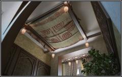 Design of stretch ceilings. Design of ceilings.
