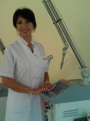 Consultation of the dermatologist - Khumar