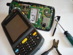 Repair of printers of bar codes
