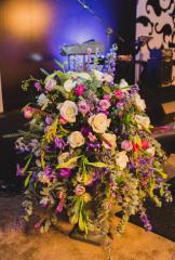 Оформление конференций цветами