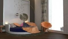 Interior of the ladies' room from UFO Design