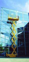 Washing of glass buildings of RM Services (Teqin)