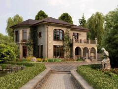 Design of an exterior of the house