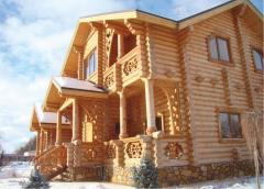 Строительство деревянных домов  в Баку