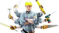Services in construction, repair services.