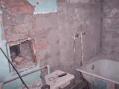 Services in repair of the bathroom