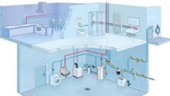Sanitary works, services in repair of bathroom