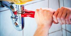 Services in repair of bathroom equipmen