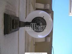 Usdlug on mounting of an electric lighting of