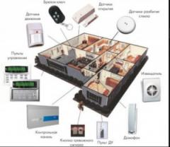 Services in installation of the security alarm
