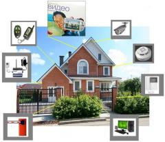 Services in design of complex security system