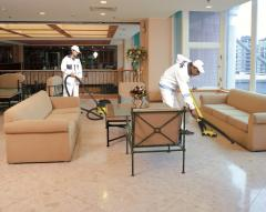 Polishing and polish of floors from RM cleaning