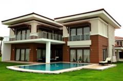 Villa tikintisi və təmiri