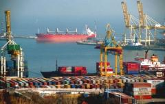 Transfer in the ports of Poti and Batumi, Georgia