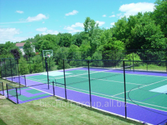 Modernization of the existing sports courts