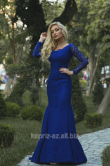 Прокат платье из гипюра AGATA, длина пл.150,дл. рукава 50