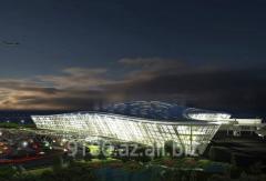 Встречи и проводы туристов в международном аэропорту им. Г.Алиева