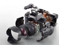 Обслуживание фотоаппаратов и видеокамер