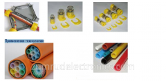 Color scale of microtubes and Application of