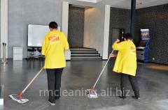 Комплексная уборка офисов и территорий