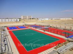 Строительство мини футбольных площадок