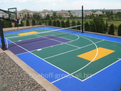 Construction of universal sports courts