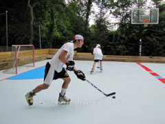 Construction of hockey platforms