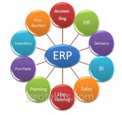 Enterprise resource planning for production