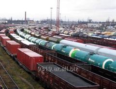 Провозка груза железной дорогой