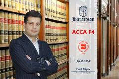 Курсы бухгалтерии и аудита ACCA F4 Corporate and Business Law kursu
