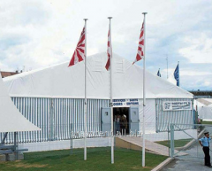 We offer in rolling tent constructions for