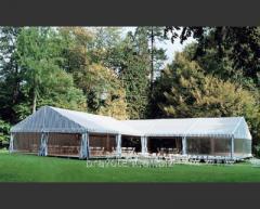 Аренда шатров для выставок и торговли