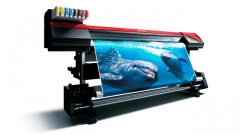High-quality and large-format press