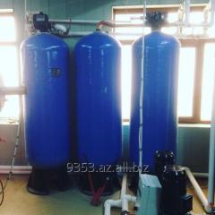 Установка фильтров механической отсичтки воды
