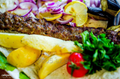 Lyul's shish kebab in Cafepark