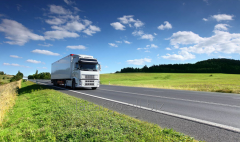 Transportation of freight by motor transport from
