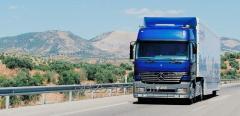 Перевозки грузов автомобилем