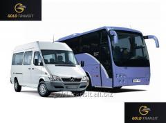 Транспортные услуги - пассажирские перевозки микроавтобусом для транспортировки ваших сотрудников.
