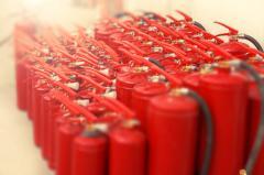 Обеспечение огнетушителями и их обслуживание